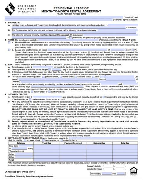 renters agreement california   main group