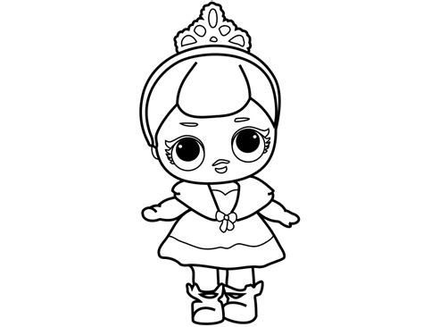 Dj Baby Kleurplaat by Lol Dolls Coloring Pages Best Coloring Pages For