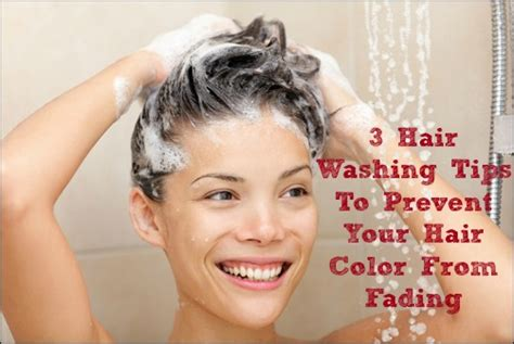 washing hair after color 3 important tips for washing color treated hair to avoid