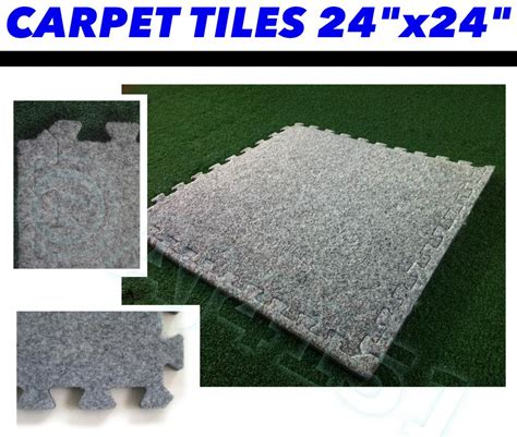 12mm thick insulated carpet tiles with underlay style