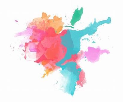 Splash Watercolor Paint Transparent Painting Travel Splatter