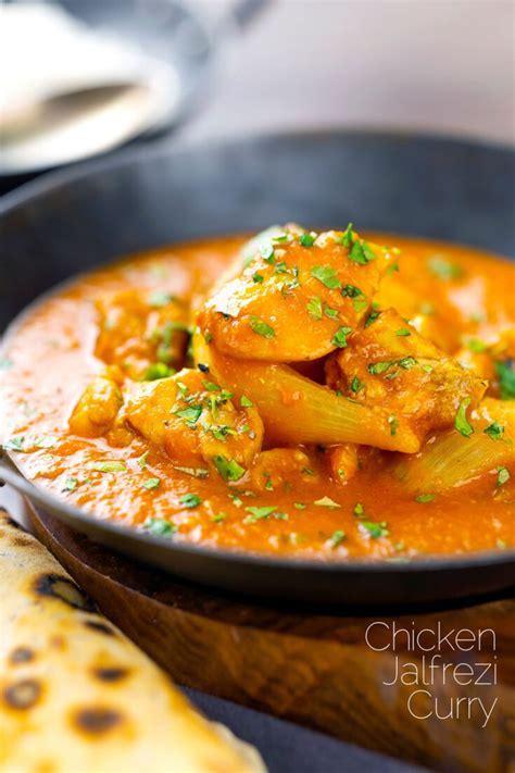 pakistani chicken jalfrezi curry krumpli