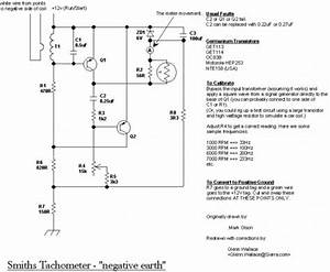 Mgb Tachometer Circuit And Explanation
