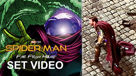 spider man   home set video jake gyllenhaal
