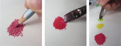 how to use water color pencils sharpen your painting skills with 4 watercolor pencil