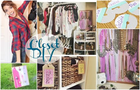 Diy Closet Organization  Tumblrpinterest Inspired