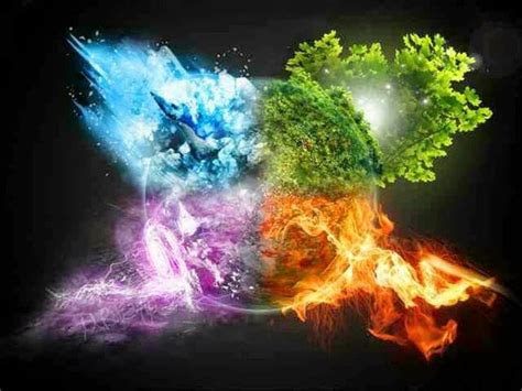 generation indigo astrology the elements in astrology and how they relate to nature