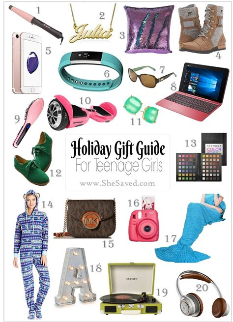 holiday gift guide gifts for teen girls shesaved 174