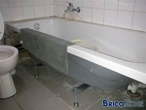 Baignoire A Poser : comment poser une baignoire acrylique la r ponse est sur ~ Edinachiropracticcenter.com Idées de Décoration