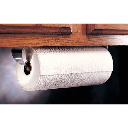 cabinet paper towel holder prodyne stainless steel cabinet paper towel holder
