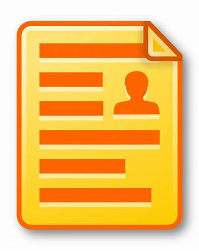 Document Icon Yellow Clipart Sign Log