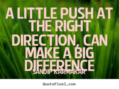 life quotes   push    direction