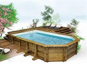 Deco Piscine Hors Sol : piscine hors sol piscine en bois euro piscine services exterieur en 2019 piscine hors ~ Melissatoandfro.com Idées de Décoration
