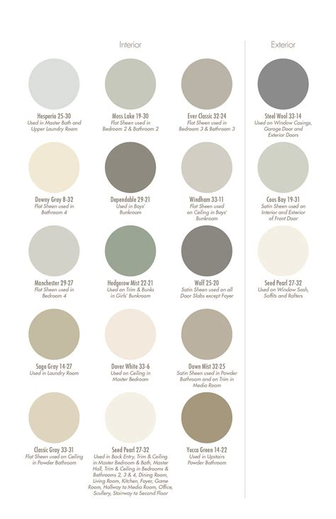 color swatch pratt lambert color and paint ideas