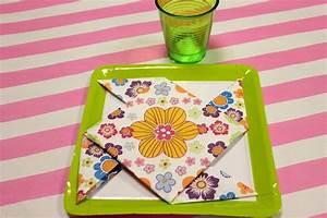 Pliage Serviette Moulin A Vent : tuto pliage de serviette moulin vent mesa bella blog ~ Melissatoandfro.com Idées de Décoration