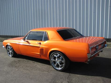 ford mustang coupe coolest 1968 ford mustang custom 2 door coupe 157643