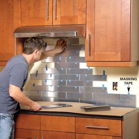 how to do a backsplash in kitchen top 20 diy kitchen backsplash ideas