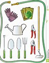 Image result for Royalty Free Clip Art Of Gardening Tools And Seeds'