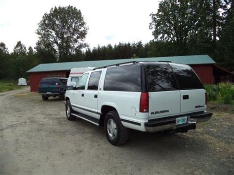 car maintenance manuals 1996 chevrolet suburban 1500 seat position control sell used 1996 gmc suburban sle sierra 4wd 1500 rust free very clean nice well maintained in
