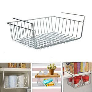 shelf table storage basket rack desk wire cabinet hanging rack organizer ebay