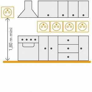 A Quelle Hauteur Mettre Une Hotte : a quelle hauteur installer une prise lectrique ou prise de courant espace grand public ~ Dallasstarsshop.com Idées de Décoration