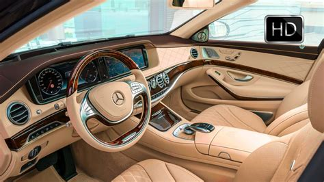 luxury cars inside 2016 mercedes maybach s600 luxury car interior design hd