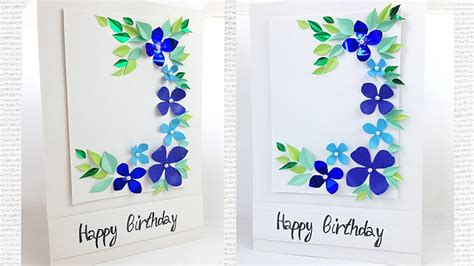 greeting card  womens mothers day flower designs
