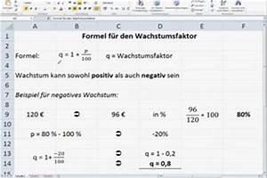 Steigerung Berechnen : video formel f r den wachstumsfaktor verst ndlich erkl rt ~ Themetempest.com Abrechnung