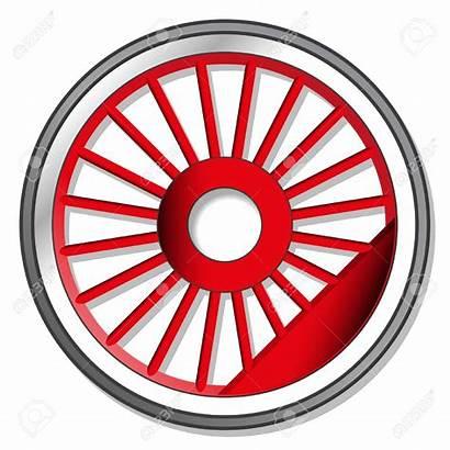Train Wheel Clipart Steam Locomotive Wheels Vector