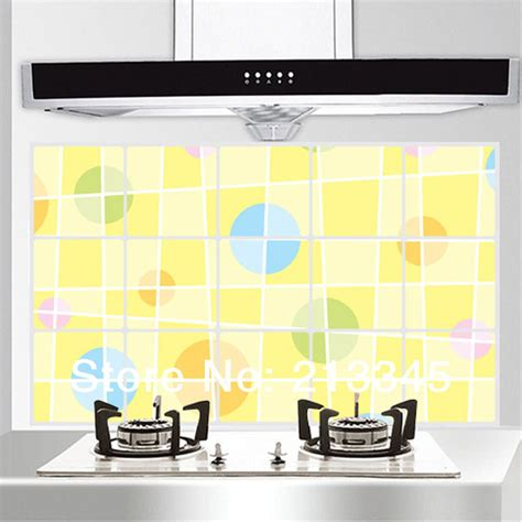 stickers for tiles in kitchen saturday monopoly environmental removable kitchen wall 8354