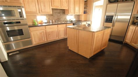 wood flooring with oak cabinets dark oak cabinets with wood floors black appliances for matching kitchen cabinets with dark oak