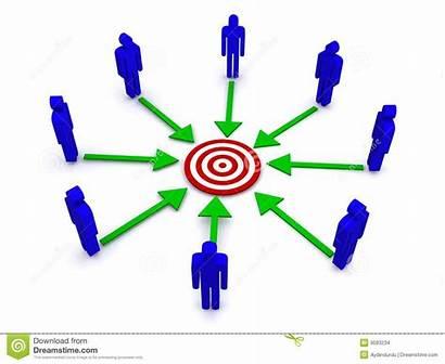 Team Squadra Della Affari Illustrazione Arrows Diagramm