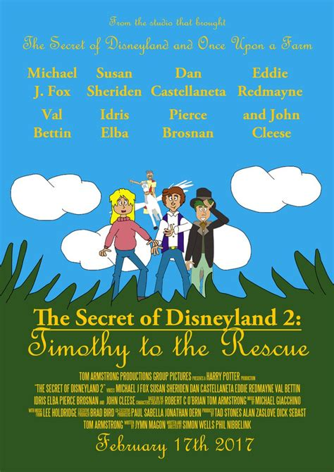 The Secret of Disneyland 2  Main Poster by TomArmstrong20