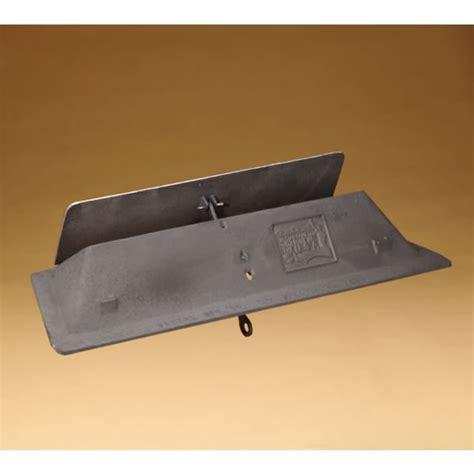 Vestal 24 Inch Cast Iron Throatstyle Fireplace Damper