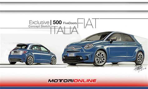 Nuova Cinquecento Cinque Porte by Fiat 500 5 Porte