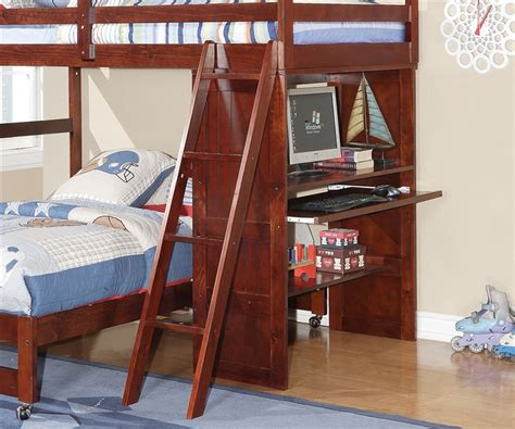 full over desk bunk bed manhattan twin over full loft bed with desk bedroom