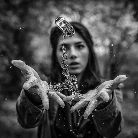 photo manipulation series presents unique twist  water