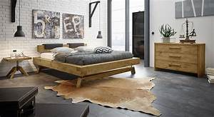 Industrial Schlafzimmer Wildeiche mit Vintage Charme