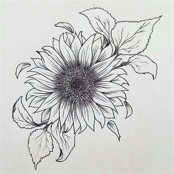 idea  girasole tattoo passione tatuaggi pinterest  mom sun  flower