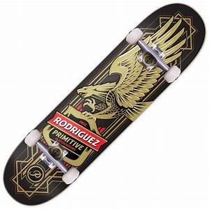 Primitive Skateboarding Rodriguez Eagle Black Complete ...