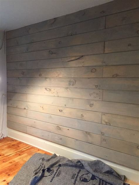Stained Shiplap die besten 25 stained shiplap ideen auf