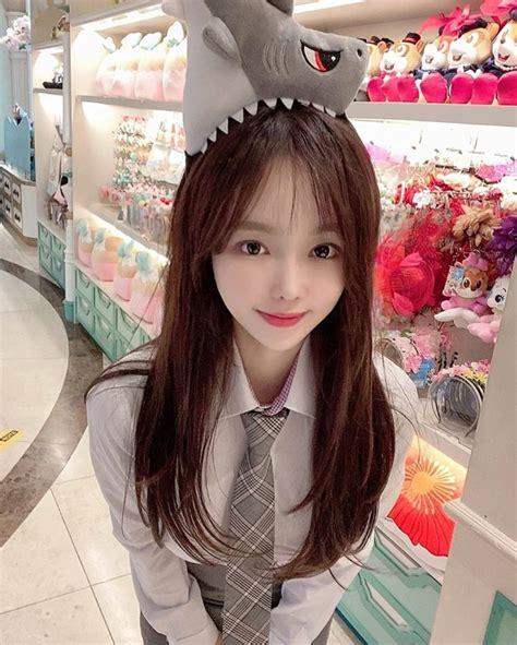 Damn! This Korean girl jeonghyeyuuul is so beautiful and ...