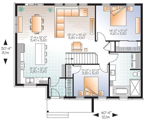 bungalow style house plan  erindale  bungalow floor plans open concept house plans