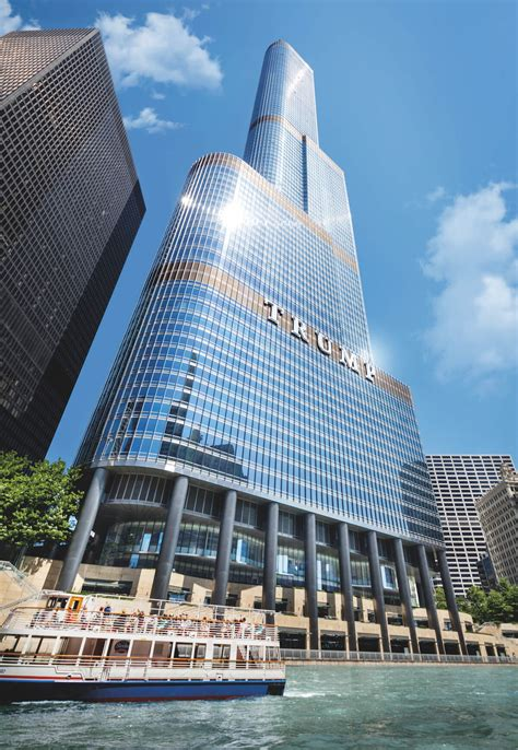 trump international hotel tower chicago il the trump