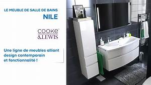 Plafonnier Salle De Bain Castorama : meuble de salle de bains nile cooke lewis 602214 ~ Nature-et-papiers.com Idées de Décoration