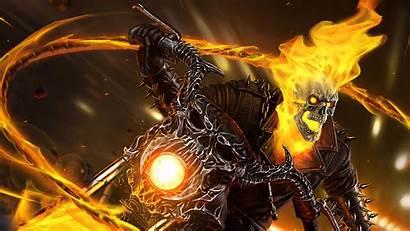 Ghost Rider 4k Wallpapers Superheroes Backgrounds Artstation