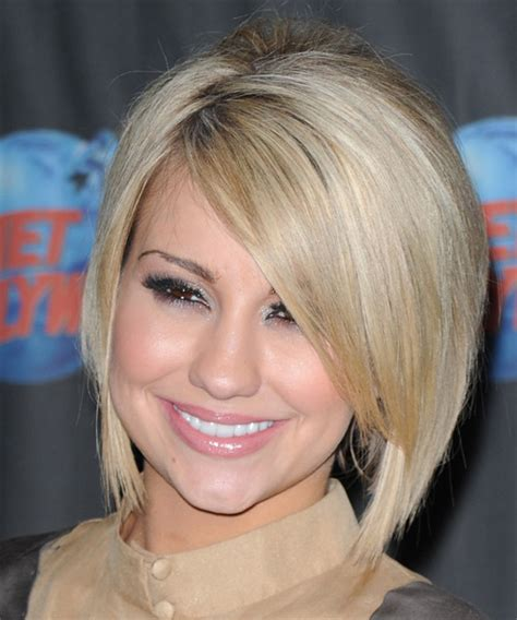 What is a chelsea haircut? Chelsea Kane Medium Straight Formal Bob Hairstyle with ...