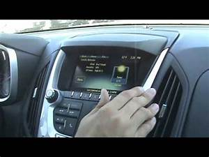 Radio And Navigation System In A 2013 Chevy Equinox