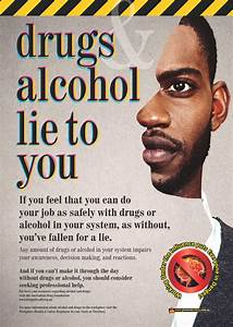 Drugs & Alcohol Lie to You Workplace Safety Posters