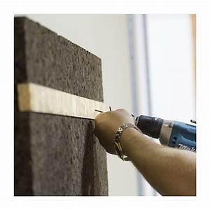 Liege Isolant Phonique : panneau li ge expans lambourde 40x500x1000mm liege ~ Voncanada.com Idées de Décoration